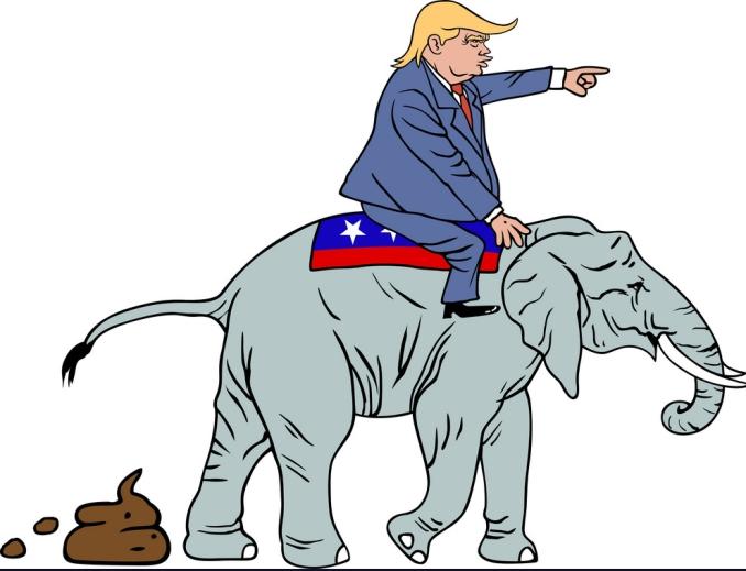 donald-trump-riding-republican-elephant-caricature-vector-10383153